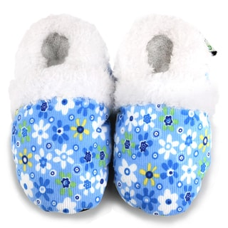 Blue Flower Soft Sole Baby Shoes