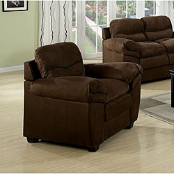 Chocolate Microfiber Chair