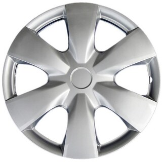 Design KT100815S_L ABS Silver 15-inch Hub Caps (Set of 4)