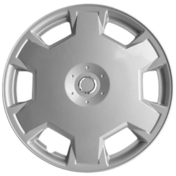 15-inch Silver Premium Hub Caps (Pack of 4)