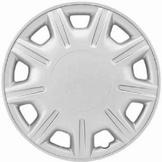 Design ABS Silver 15-inch Hub Caps (Pack of 4)