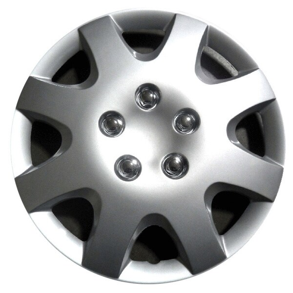 Design Silver ABS 15 Inch Hub Caps for Honda Civic (Set of 4) Wheels & Tires