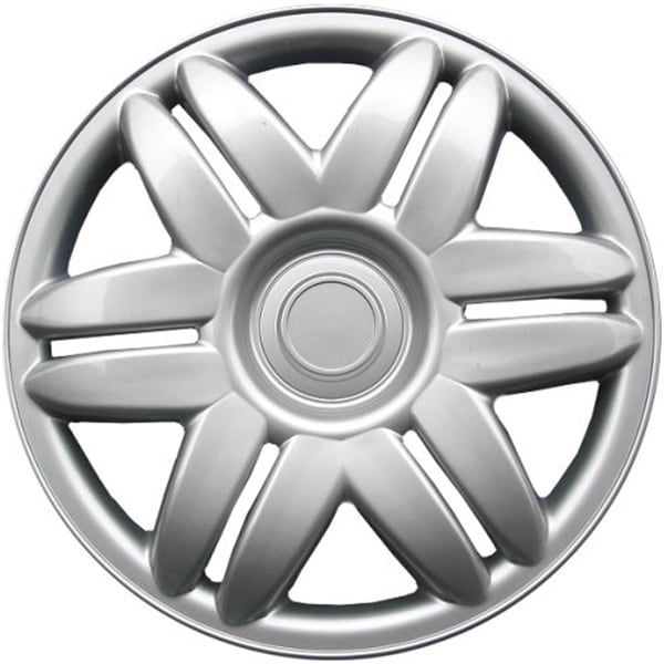 Design Silver ABS 15-Inch Hub Caps for Toyota Camry (Set of 4)