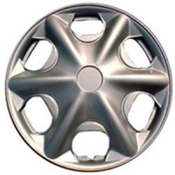 Design Silver ABS 15-Inch Premium Hub Caps (Set of 4)