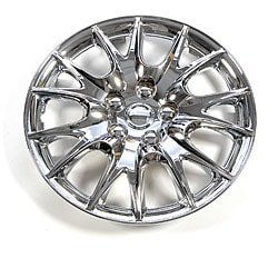 Design ABS Chrome 15-inch Hub Caps (Pack of 4)