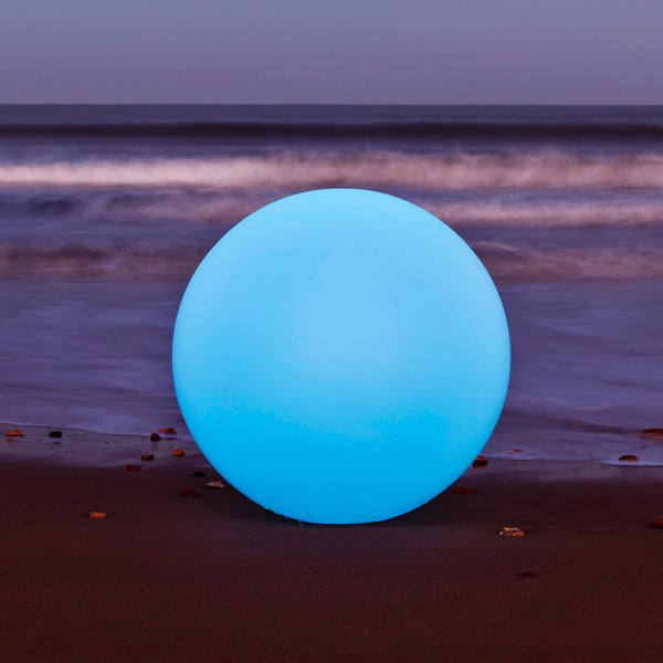 All-Weather 19.7-inch Cordless LED Globe