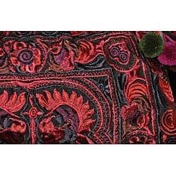 Cotton Leyla 'Red' Purse (Thailand)