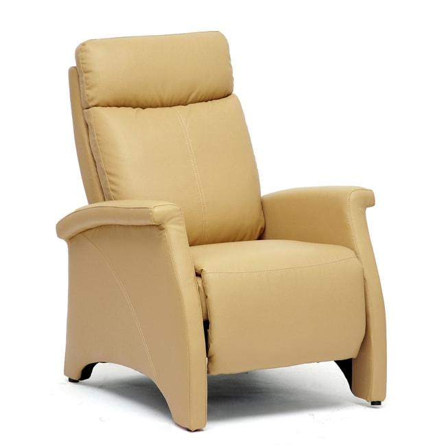 'Sequim' Tan Reclining Club Chair