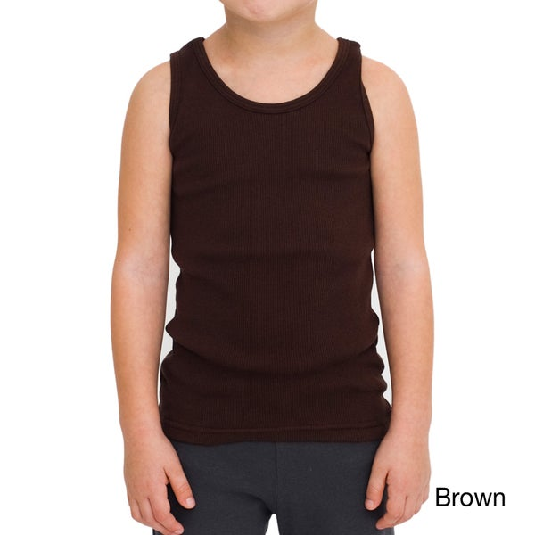 American Apparel Kids Rib Tank