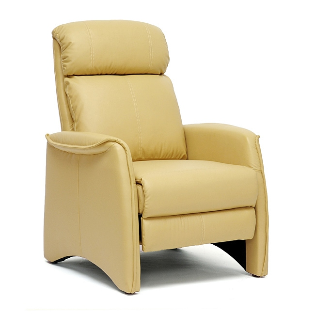 Aberfeld Tan Reclining Club Chair Overstock