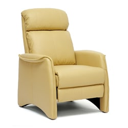 'Aberfeld' Tan Reclining Club Chair