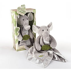 Baby Aspen 'Ekko the Elephant Little Expeditions' Plush Rattle Lovie