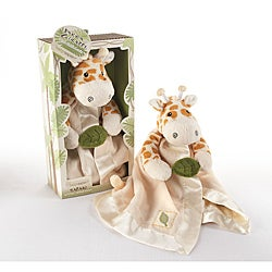 Baby Aspen 'Jakka the Giraffe' Little Expeditions Plush Rattle Lovie