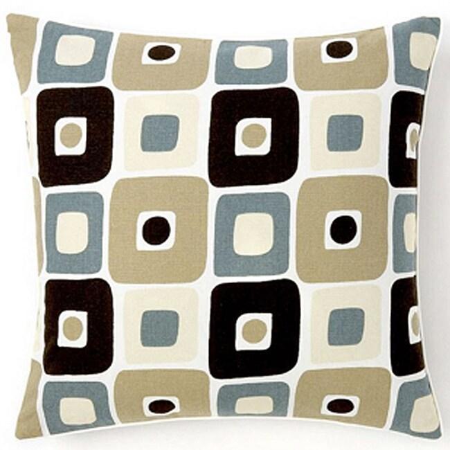 Geo Spa 20x20-inch Decorative Pillow