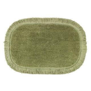 Sherry Kline Sage Green Fringed 20 X 30 Bath Rug Set Of 2 Overstock Shopping The Best