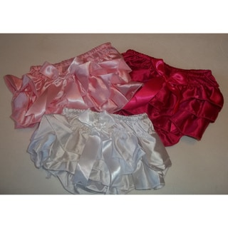 Baby Girl Ruffle Bloomers (Set of 3)