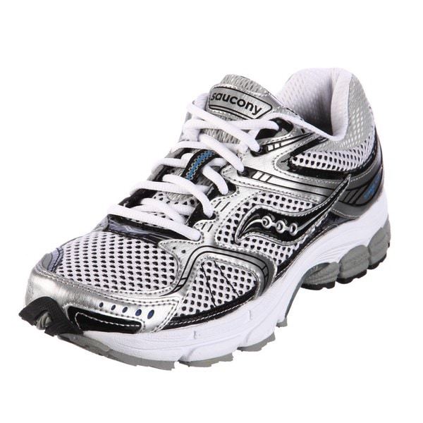saucony running shoes white