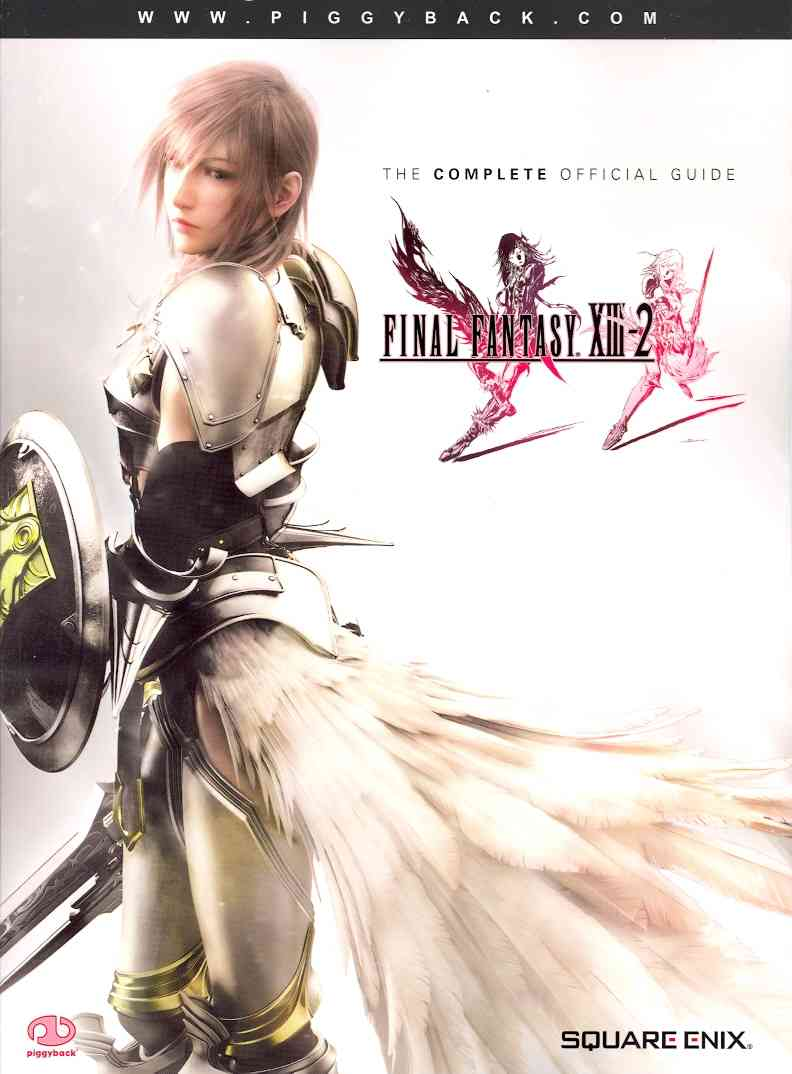 Final Fantasy XIII-2: The Complete Official Guide (Paperback)