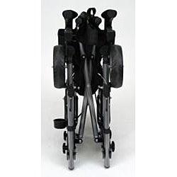 HealthSmart Gateway Rollator Titanium