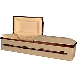 Star Legacy's SilverTapestry All-Natural Cremation or Burial Casket