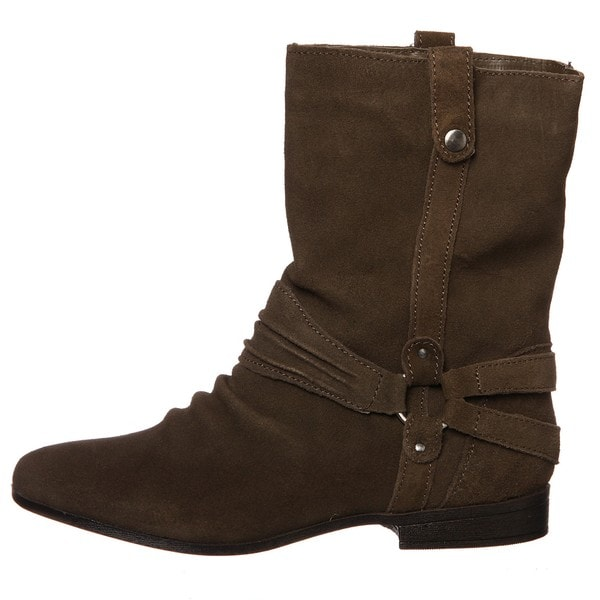 Sam & Libby Women's 'Fabulist' Moss Leather Boots