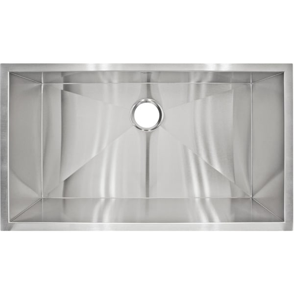 LessCare LP2 Designer Undermount Stainless Steel Sink