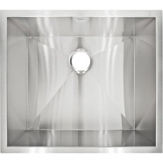 LessCare LP1 Designer Undermount Stainless Steel Sink