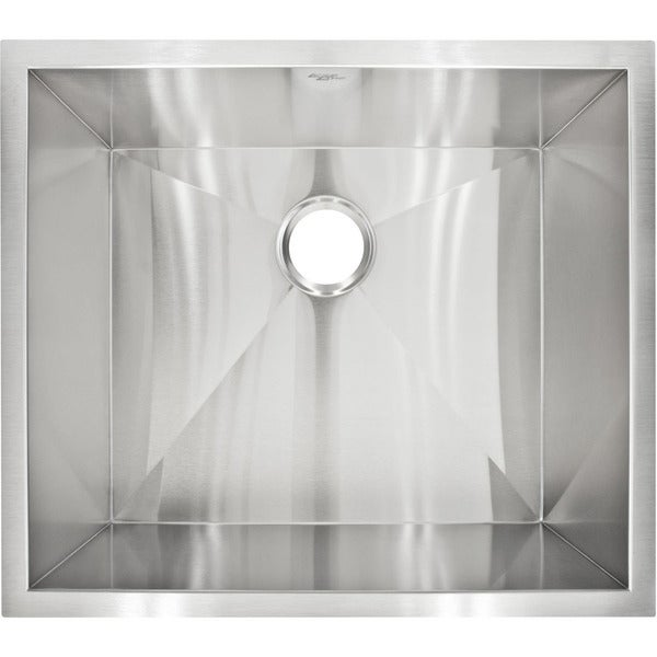 Designer Stainless Steel Sinks : LessCare LP1 Designer Undermount Stainless Steel Sink - 14029063 ...
