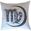 Virgo Zodiac Sign Cotton Decorative Pillow