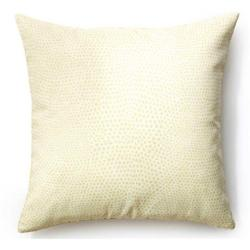 Cream Cheetah-Pattern Pillow