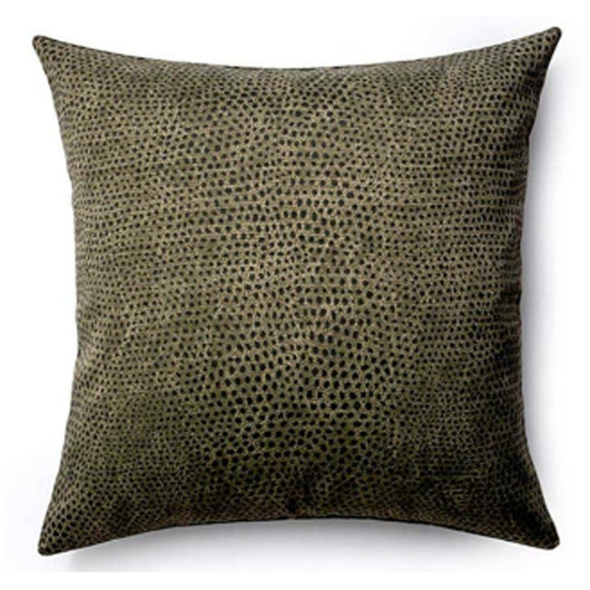 Ebony Cheetah-Pattern Pillow