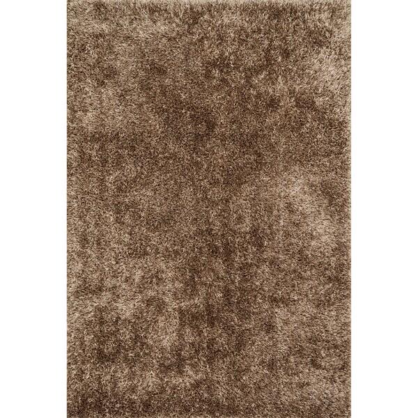Caldera Beige Shag Rug (7'9 x 9'9)