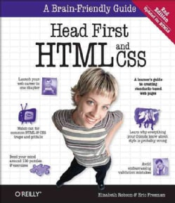 Head First HTML and CSS (Paperback)