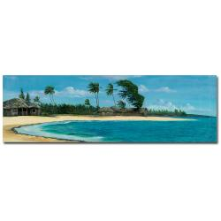 Douglas 'Paisage Tropical II' Canvas Art