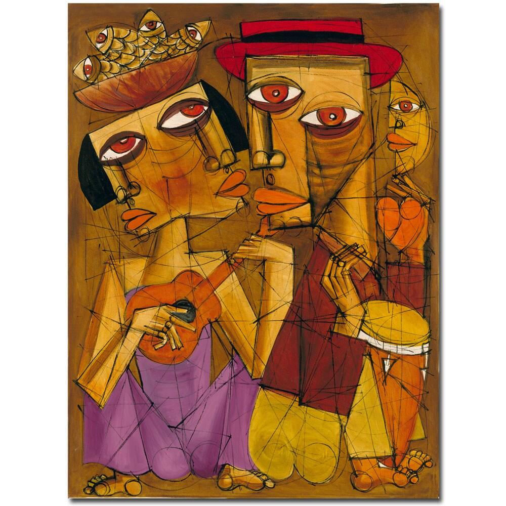 Dieguez 'Golden Times' Canvas Art