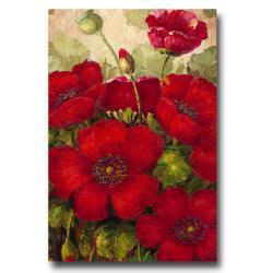 Rio 'Poppies II' Canvas Art