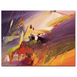 Ricardo Tapia 'Midnight' Canvas Art