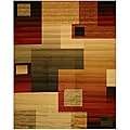 EORC Modern Boxes Rug (5'3 x 7'3)
