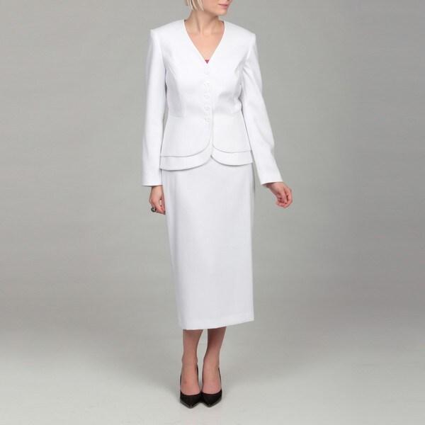 White Skirt Suit For Women 51