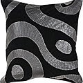 Dire 18-inch Square Poly Decorative Pillow