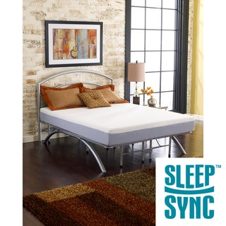 Sleep Sync Beige 8-inch Twin-size Memory Foam Mattress