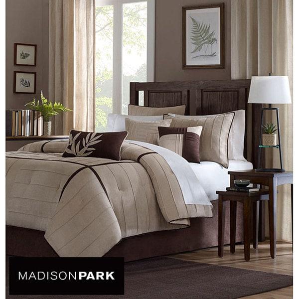 Madison Park Dune 7-Piece Full-size Comforter Set