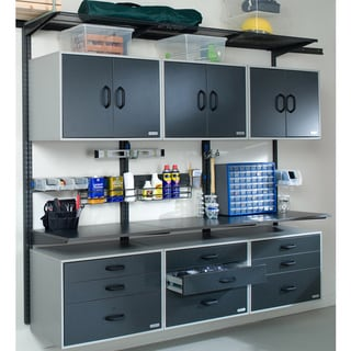 Organized Living freedomRail Go-Cabinet Granite Doors