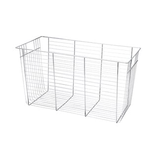 Organized Living freedomRail 13-inch Big O-Box Chrome Basket with Glide