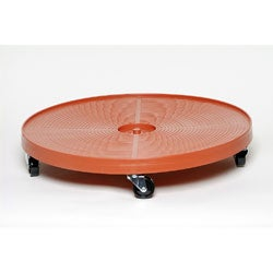 Terra Cotta 24-Inch Wheeled Plant Dolly