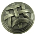 Stone Mill Hardware Cross Flory Weathered Nickel Cabinet Knobs (Pack of 10)
