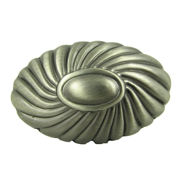 Stone Mill Hardware 'Sienna' Weathered Nickel Cabinet Knobs (Pack of 5)