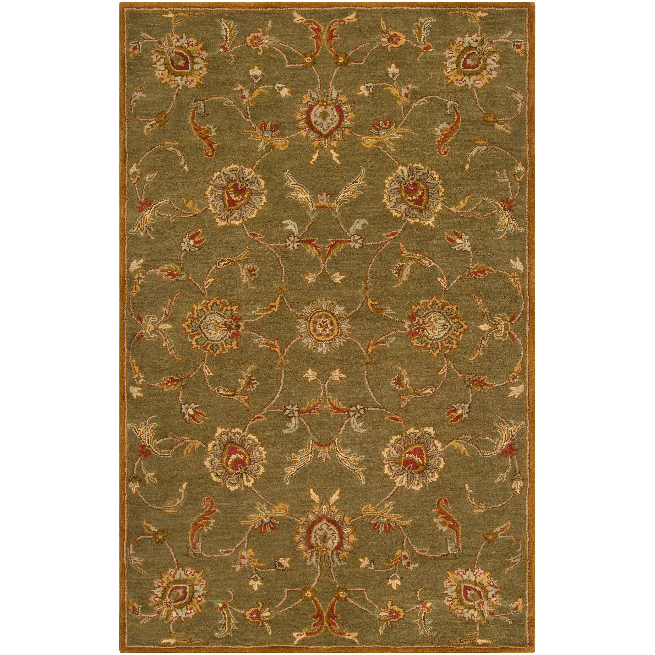 Hand-tufted Lemmon Wool Rug (9' x 12')