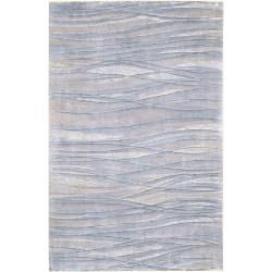 Julie Cohn Hand-knotted Edgemont Abstract Design Wool Rug (4' x 6')