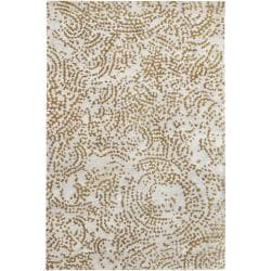 Julie Cohn Hand-knotted Faulkton Abstract Design Wool Rug (5' x 8')